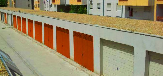 Gotovo 400 garaža na teritoriji Grada